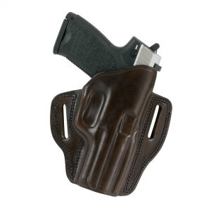 Kirkpatrick Leather 2010 OWB belt holster for the 1911 in brown