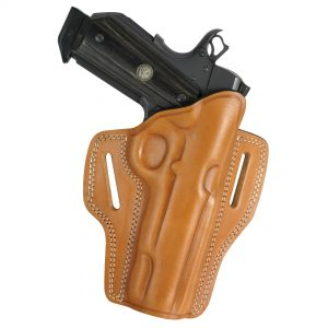 Kirkpatrick Leather 2010 OWB belt holster for the 1911 in tan