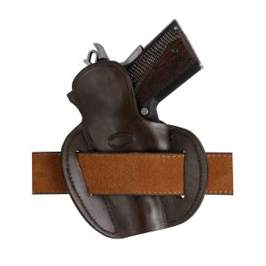 Kirkpatrick Leather 2145 OWB belt holster backside