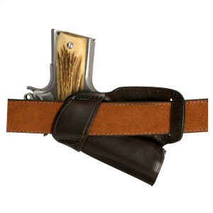 Kirkpatrick Leather 508 OWB holster backside