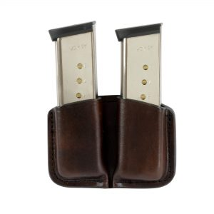 Kirkpatrick Leather Short double mag carrier