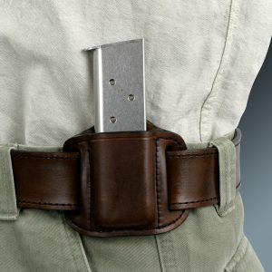 Kirkpatrick Leather Single mag carrier in brown