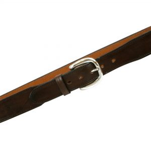 Kirkpatrick B75 tapered leather belt