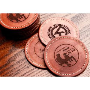 Kirkpatrick Leather Custom coasters