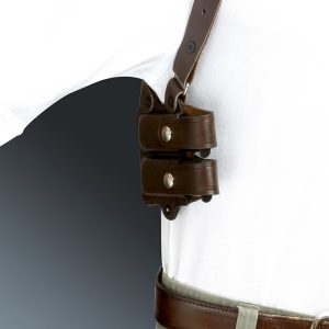 Kirkpatrick Leather K400H mag carrier for shoulder holster
