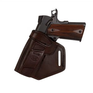 Kirkpatrick Leather Crossdraw belt holster backside