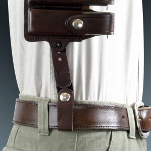 Kirkpatrick Shoulder holster tie down strap