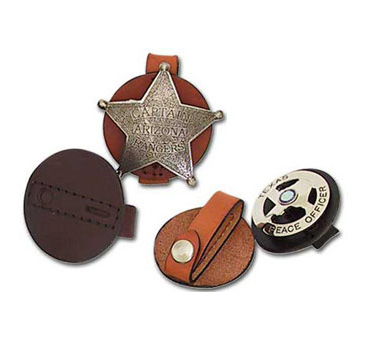 Kirkpatrick Leather Badge holders
