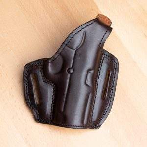 Kirkpatrick 2000 OWB colt officer holster in brown