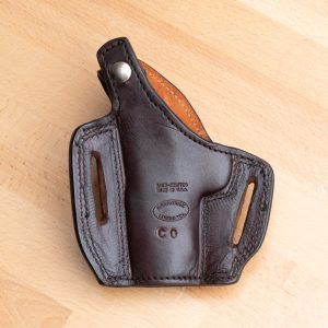 Kirkpatrick OWB colt officer holster Backside