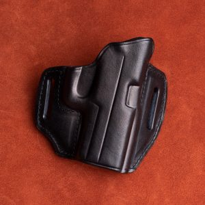 Kirkpatrick Leather 2010 OWB Sig P320X leather gun holster