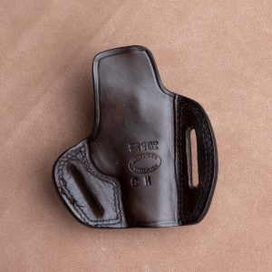 Kirkpatrick 2145 Colt Mustang OWB holster backside