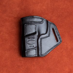 Kirkpatrick TCD Taurus 908 OWB holster backside