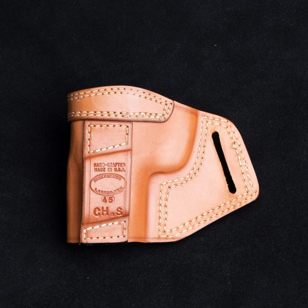 Kirkpatrick TCD Chief special 45 OWB holster backside