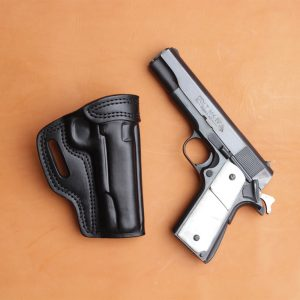 Kirkpatrick TSS OWB holster for the Colt 1911 in black