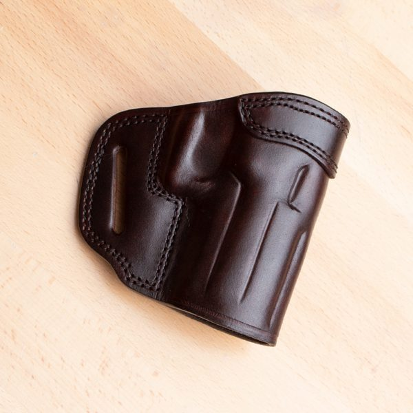 TSS OWB holster for the P2000 in brown