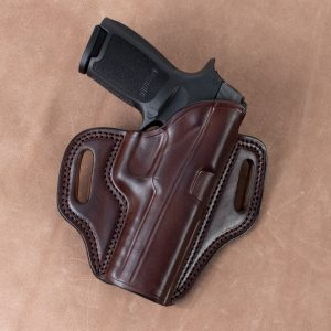 Kirkpatrick 2010 Sig P320 OWB holster in brown